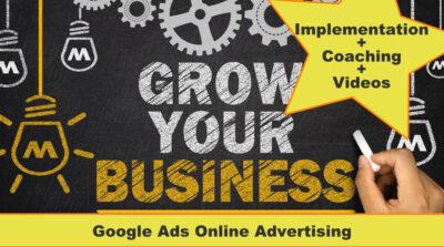 Google Ads course Implementation plus videos