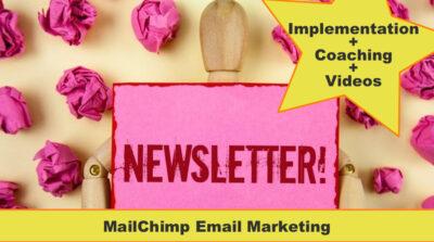 MailChimp Course Implementation plus videos