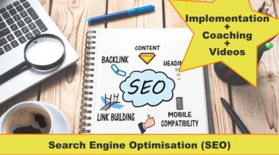 SEO course Implementation plus videos